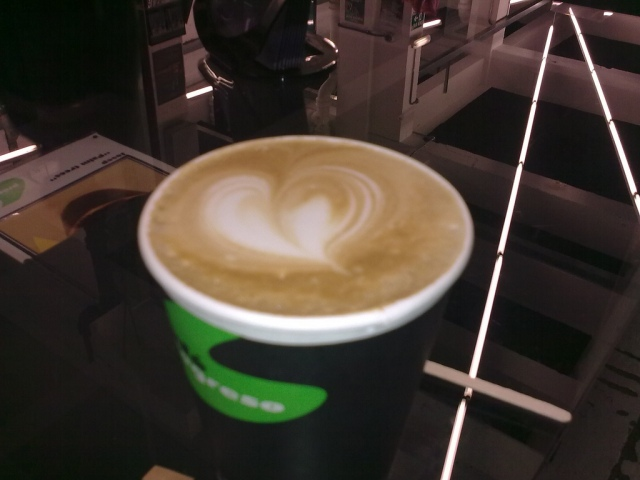 Heart Shaped Latte