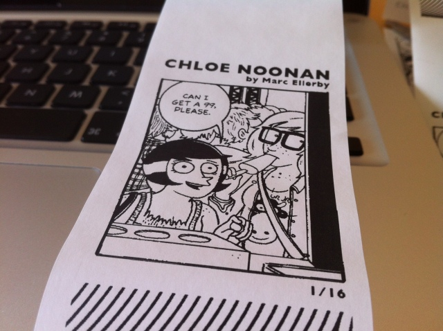 Chloe Noonan Little Printer