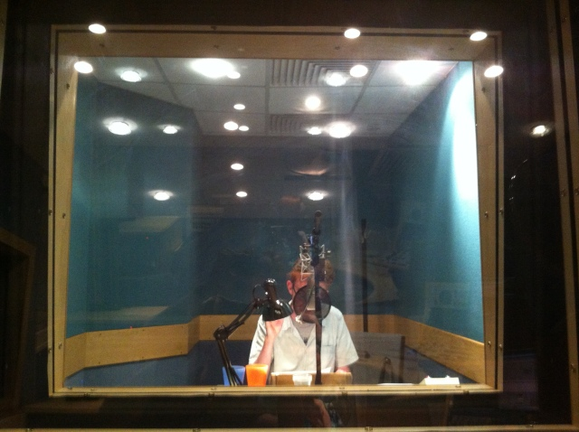 Brian in the booth